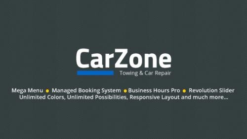 Car Zone - Towing & Repair WordPress Theme