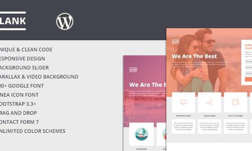 Klank WordPress Multipurpose Landi...