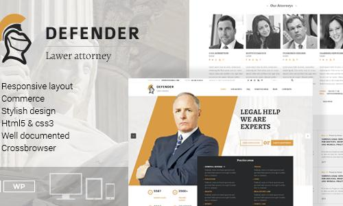 Defender – Attorney & Lawyer Wor...