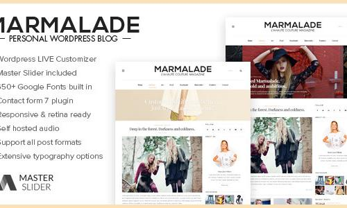 The Marmalade - Personal Wordpress...