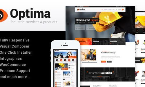 Optima | Industrial WordPress Them...