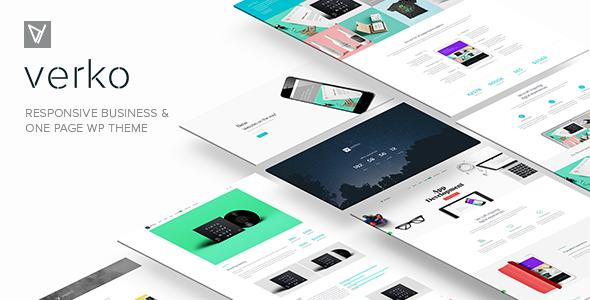Verko | Responsive Business & One Page WP Theme