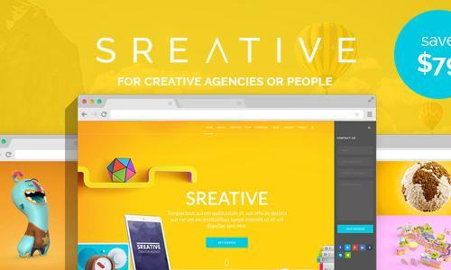 Sreative | Digital Agency WordPres...