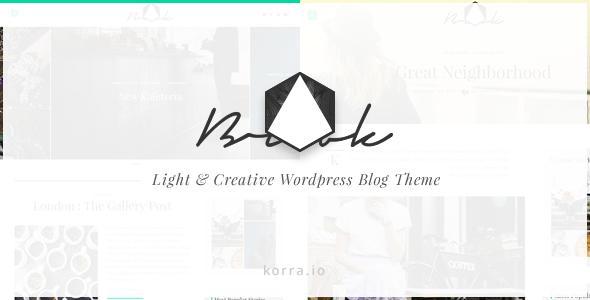 Brook | Light & Responsive WordPress Blog Theme