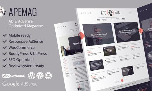 Apemag: Ad & AdSense ready magazin...