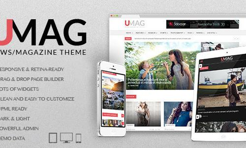 UMag - Responsive WordPress News /...
