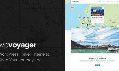 WPVoyager - WordPress Travel Theme