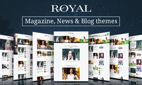 Royal - Responsive Wordpress News,...