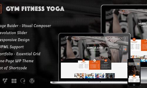 Gym Fitness Yoga - Maniva WordPres...
