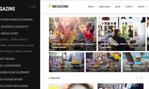 Megazine - Multi Blog Wordpress Re...