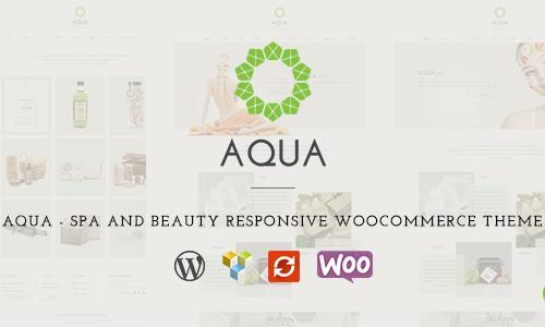 Aqua - Spa and Beauty Responsive W...