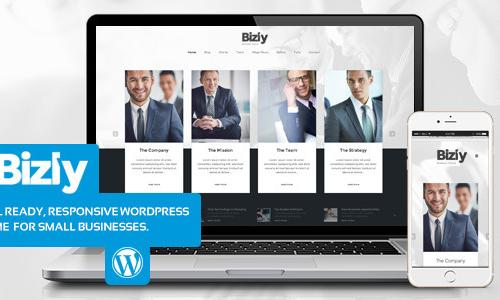Bizly - Lawyer and business theme ...