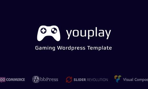 Youplay - Gaming Wordpress Templat...