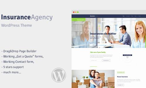 Insurance - WordPress Theme for In...