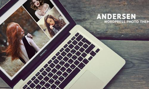Andersen - Fullscreen WordPress Ph...