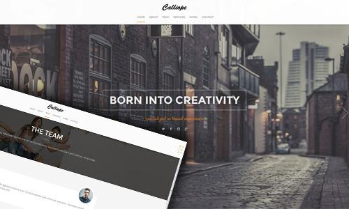 Calliope - Portfolio & Agency Word...