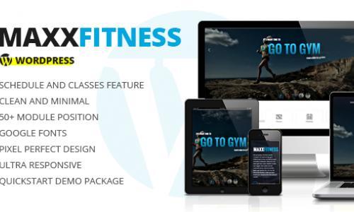 Maxx Fitness - Responsive WordPres...