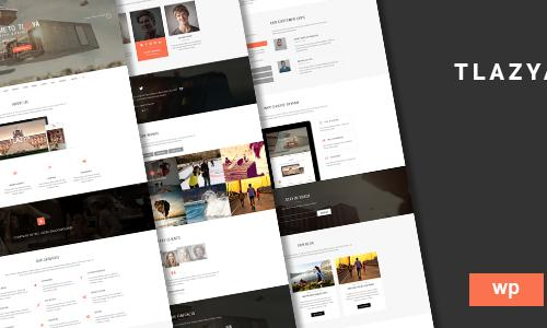 Tlazya - Creative OnePage Parallax...