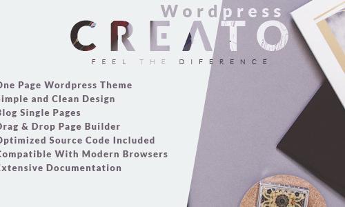 Creato - Creative & Modern WordPre...