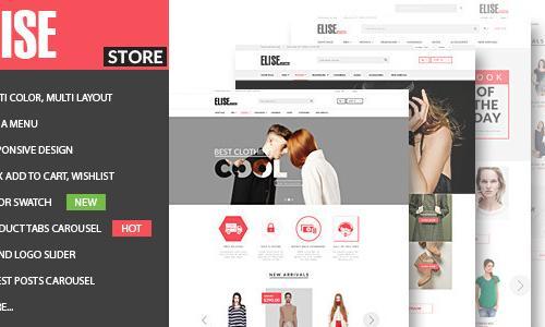 Elise - Fashion WooCommerce WordPr...