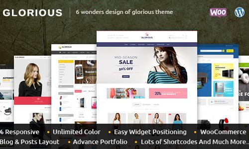 Glorious - WooCommerce Responsive ...