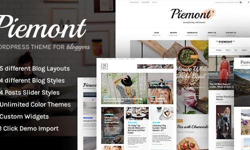 Piemont - Premium Responsive WordP...