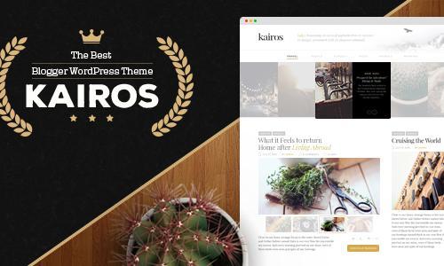 Kairos - WordPress Blog Theme