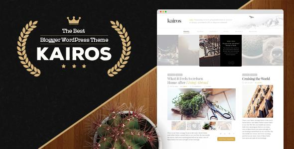Kairos - WordPress Blog Theme