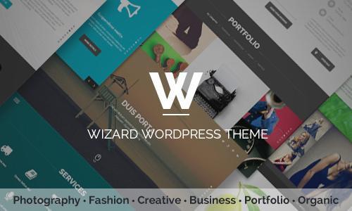 Wizard - Fullpage Portfolio WordPr...