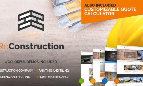 ReConstruction - Construction & Bu...