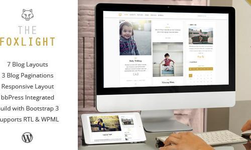 Foxlight - WordPress Personal Blog...