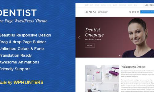 Dentist - A Responsive One Page Wo...