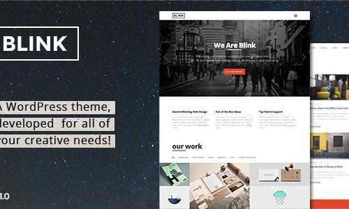 Blink - Parallax One Page WordPres...