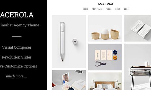 Acerola - Ultra Minimalist Agency ...